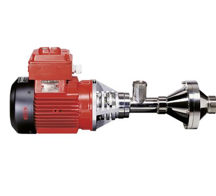 For pumping and circulating large volumes incl. aggressive and abrasive media