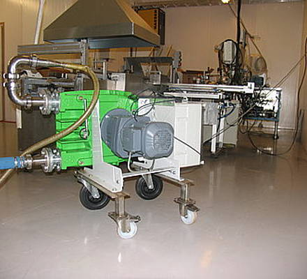 Even innocuous fruit seeds can damage the workings of certain pump types. Indeed they were the downfall of a rotary lobe pump installed at food processor in Finland a producer of fruit sorbets and purees.