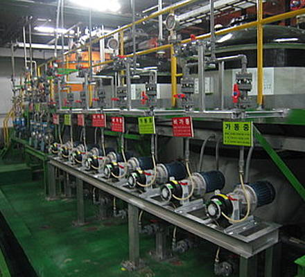 A leading multi-national electronics company with numerous plants across South Korea has for many years been using Metering pumps for dosing Aluminium Sulphate in their wastewater treatment facilities.