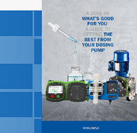 Getting the best out of dosing pumps