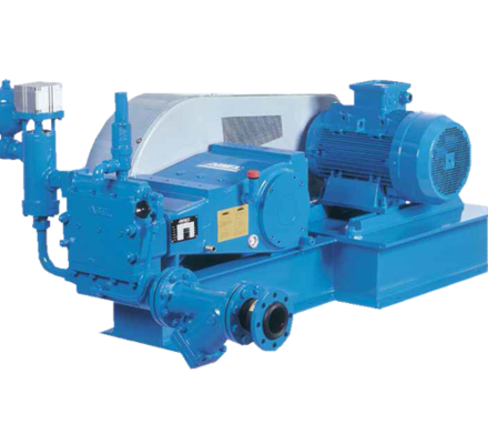 Our Verderbar HP-HPT pumps are designed to handle pressure up to 16.0 MPa (160 bar). The series of high pressure triplex piston pumps has proven its worth many times, especially when used for cleaning the filter cloth and membrane filter presses.