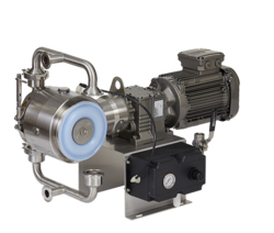 Verderair Hi-Clean Electronic Operated Double Diaphragm pumps