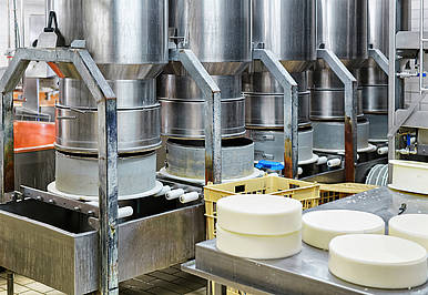 Pumps to Produce the Perfect Cheese