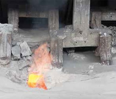 Pumping of abrasive degreasers