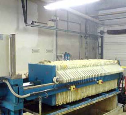 A chamber filter press is a machine for separating sludges, slurry or fluids A filter press machine is  used extensively in the treatment of waste and by-products in the food, chemical, mining and pharmaceutical industries. The cake and filtrate can be recycled back into the process, sold off for further processing or disposed of more economically.