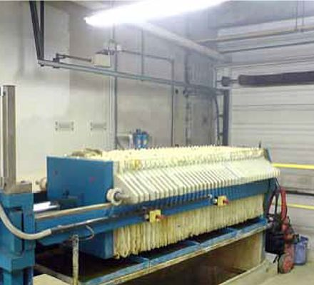 A chamber filter press is a machine for separating sludges, slurry or fluids A filter press machine is  used extensively in the treatment of waste and by-products in the food, chemical, mining and pharmaceutical industries. The cake and filtrate can be recycled back into the process, sold off for