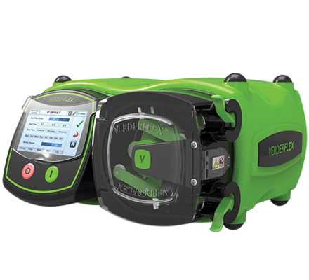 The Verderflex Vantage 5000 family is the next generation in cased drive tube pumps combining precision dosing and dispensing accuracy with high discharge pressures, an intuitive touch screen user interface and a USB data backup port.  Remotely control signal options include include 0-10V, 4 to 20mA & tachometer inputs & outputs with optional opto isolation  and multiple volt free inputs & outputs.
