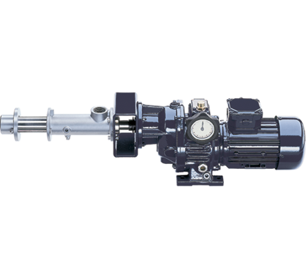 The VPD model has been specially developed for pulse-free pumping and dosing of smaller flow ranges. For low to high viscous fluids containing solids and for pumping aggressive fluids.