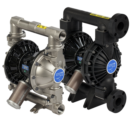 The VA industrial range really does set the benchmark for air diaphragm pumps.