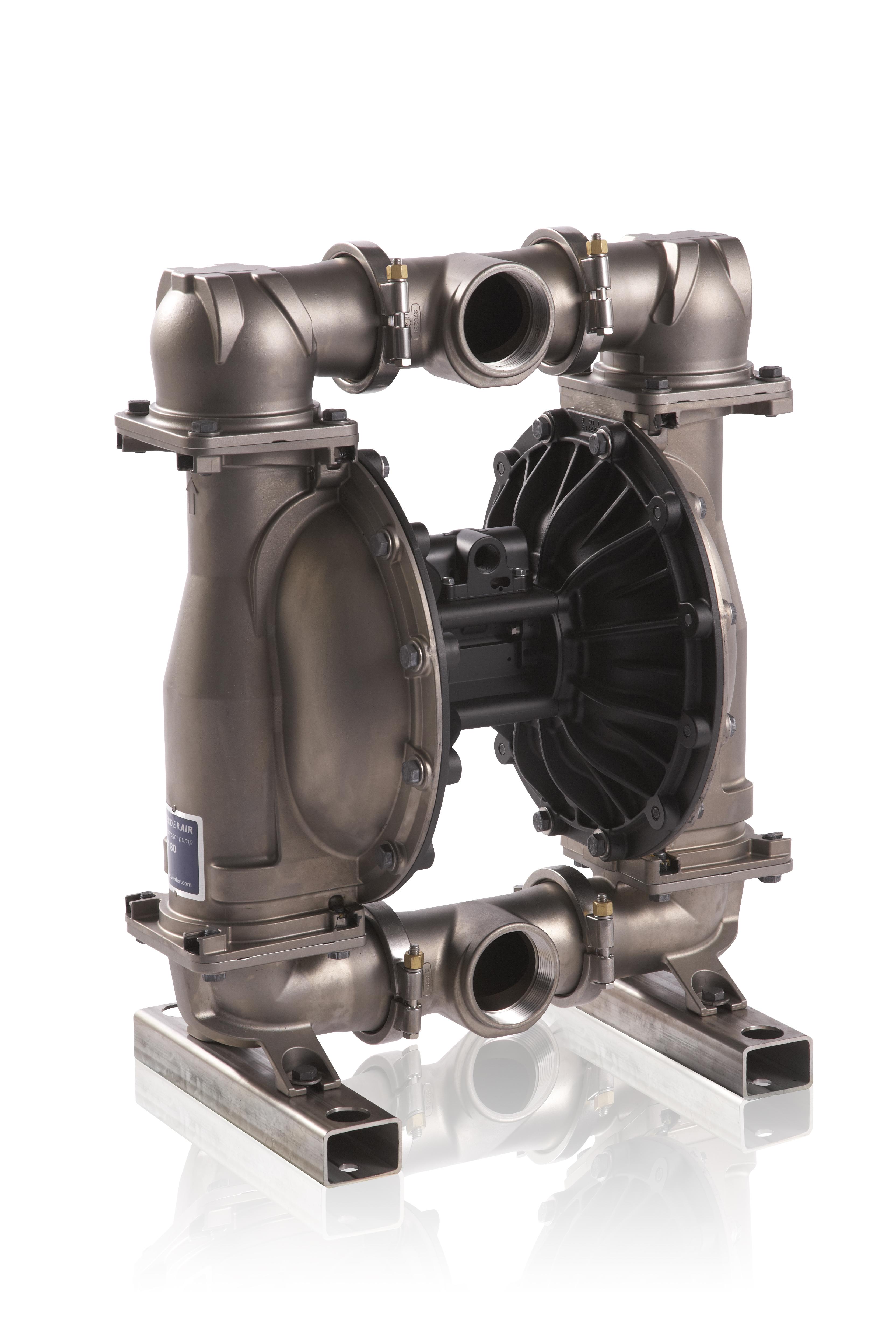 3'' VA80 SS/PTFE Druckluftmembranpumpe