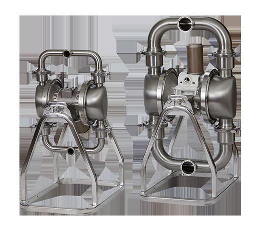 Hygiene-Druckluftmembranpumpe Verderair VA-H