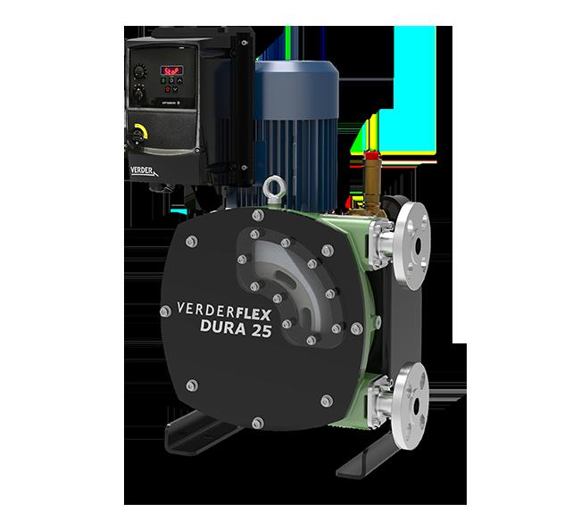 Verderflex iDura - Schlauchpumpe mit Frequenzumrichter